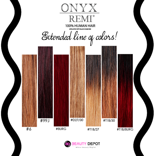 Onyx remi 100 remi human hair beauty depot o store we offer same day shipping on orders placed before 300pm est monday through saturday some orders may take up to 2 business days to ship from our store pmusecretfo Images