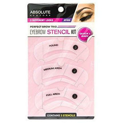 Absolute New York Cosmetics Absolute NY: Eyebrow Stencil Kit