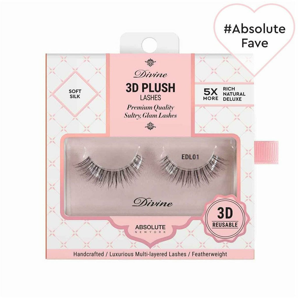 Absolute New York eyelashes Absolute NY: Divine 3D Plush Lashes