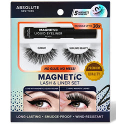 Absolute New York eyelashes Absolute NY: Magnetic Lash & Liner Set