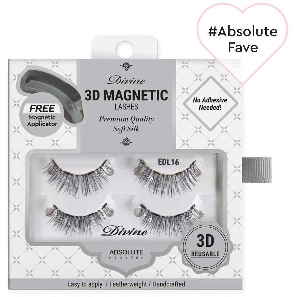 Absolute New York eyelashes EDL16 Absolute NY: Divine 3D Magnetic Lashes