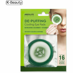 Absolute New York Natural Skin Care Absolute New York: Cooling Eye Pads
