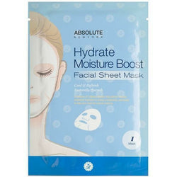 Absolute New York Natural Skin Care AFSM04 - Hydrate Absolute New York: Facial Sheet Mask