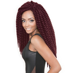 Afri-Naptural Crochet Hair #1 Afri-Naptural 2X SENEGAL BANTU TWIST 18""