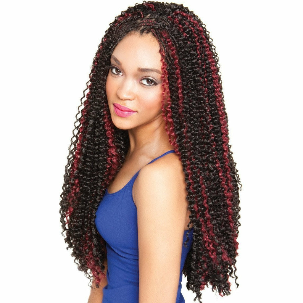Afri-Naptural Crochet Hair #1 Afri Naptural Caribbean BERMUDA WAVE <br> Crochet Braid
