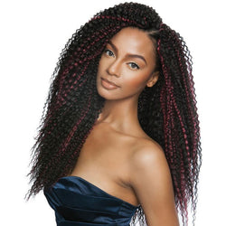 Afri-Naptural Crochet Hair #1 Afri-Naptural: Caribbean Bundle Brazilian Curl