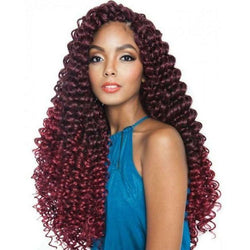Afri-Naptural Crochet Hair #1 Afri-Naptural: Caribbean Bundle Super Deep Twist 22""