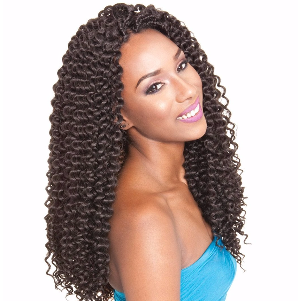 Afri-Naptural Crochet Hair #1 Afri Naptural Caribbean CUBAN RIPPLE <br> Crochet Braid