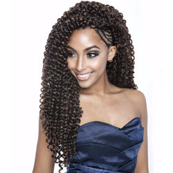 Afri-Naptural Crochet Hair #1 Afri Naptural Caribbean NATURAL WATER 18""