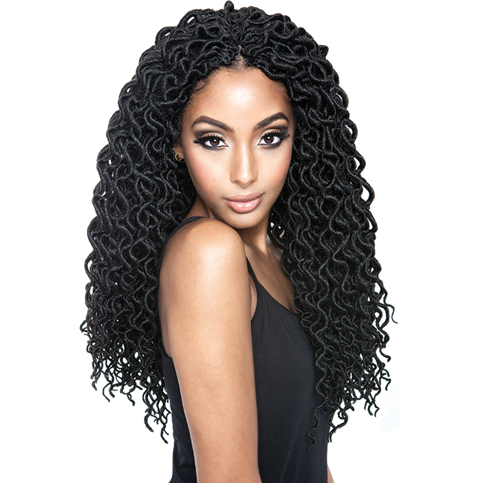 Afri Naptural Crochet Hair Twist Braids Faux Locs At Shop Beauty