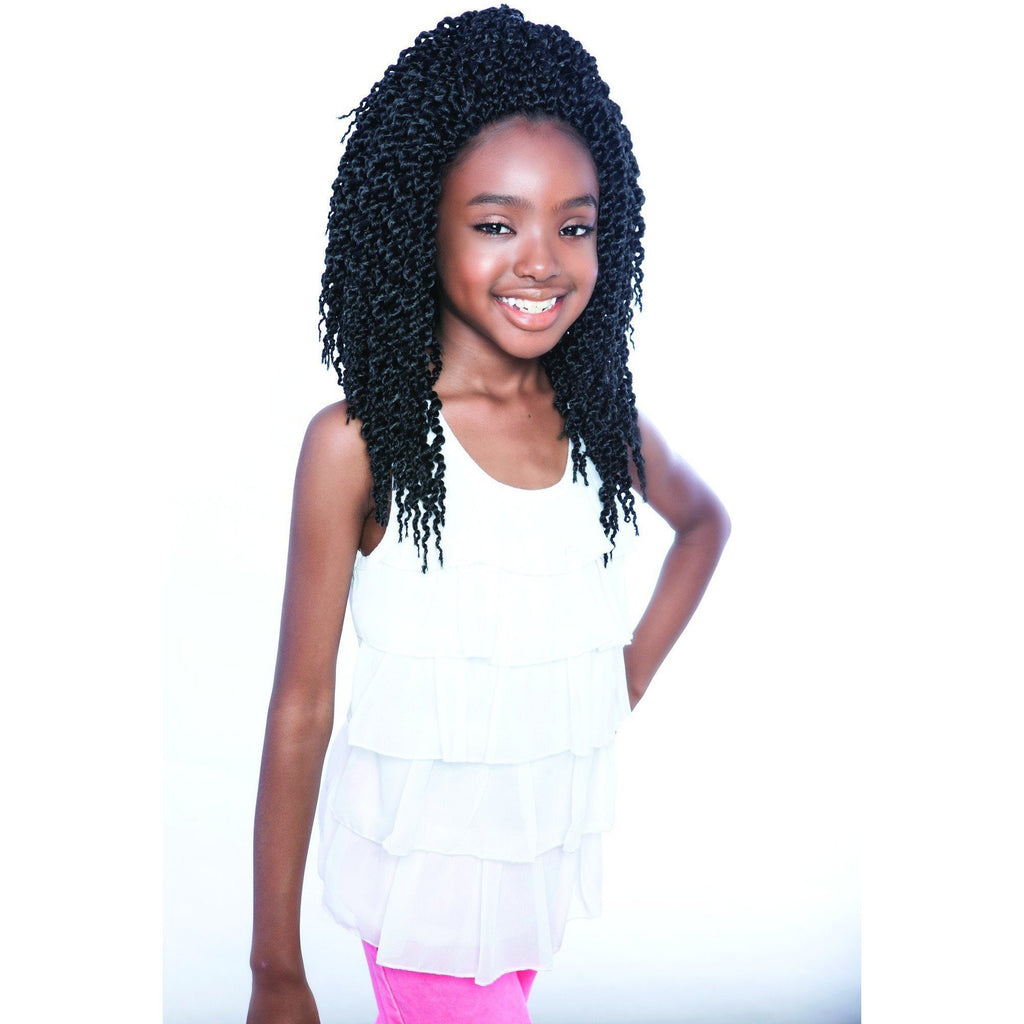 Afri-Naptural Crochet Hair #1 Afri-Naptural KIDS ROCK 3D CUBIC TWIST 12""