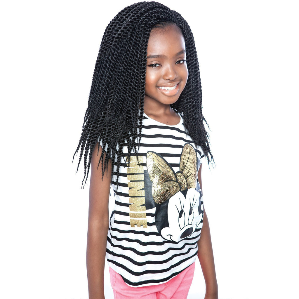 Afri-Naptural Crochet Hair #1 Afri-Naptural KIDS ROCK SENEGALESE TWIST 12""