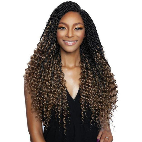 Afri-Naptural Crochet Hair Afri-Naptural 3X BOHO SENEGAL TWIST 20""