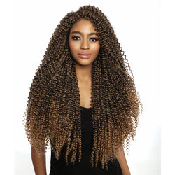 Afri-Naptural Crochet Hair Afri-Naptural: 3X Caribbean Passion Water Wave 22""