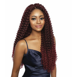 Afri-Naptural Crochet Hair Afri-Naptural: 3X Caribbean Water Wave 22""