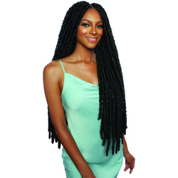 "Afri-Naptural Crochet Hair Afri-Naptural: Mermaid Waist Locs 30"" Crochet Braid (LOC104)"