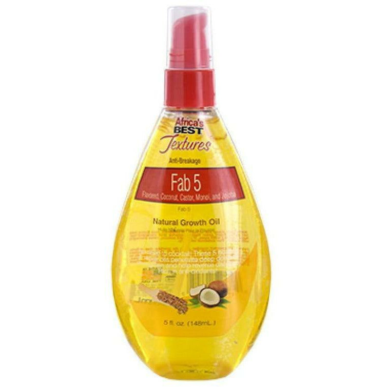 Africa's Best Styling Product Africa's Best: Fab 5 Natural Growth Oil 5oz