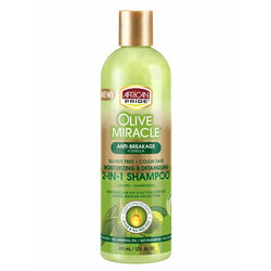 African Pride Hair Care African Pride: 2-in-1 Shampoo & Conditioner 12oz