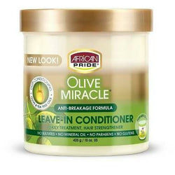African Pride Hair Care African Pride: Olive Miracle Leave-In 15oz