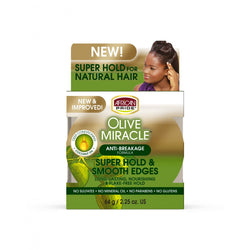 African Pride Styling Product African Pride: Olive Miracle Super Hold & Smooth Edges
