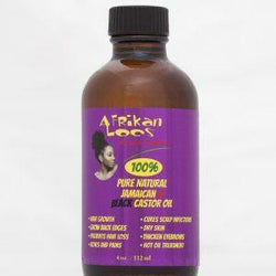 Afrikan Locs Hair Care Afrikan Locs: 100% Pure Jamaican Black Castor Oil 4oz