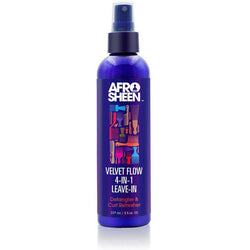 Afro Sheen Leave In Afro Sheen: Velvet Flow 4-In-1 Leave-In 8oz