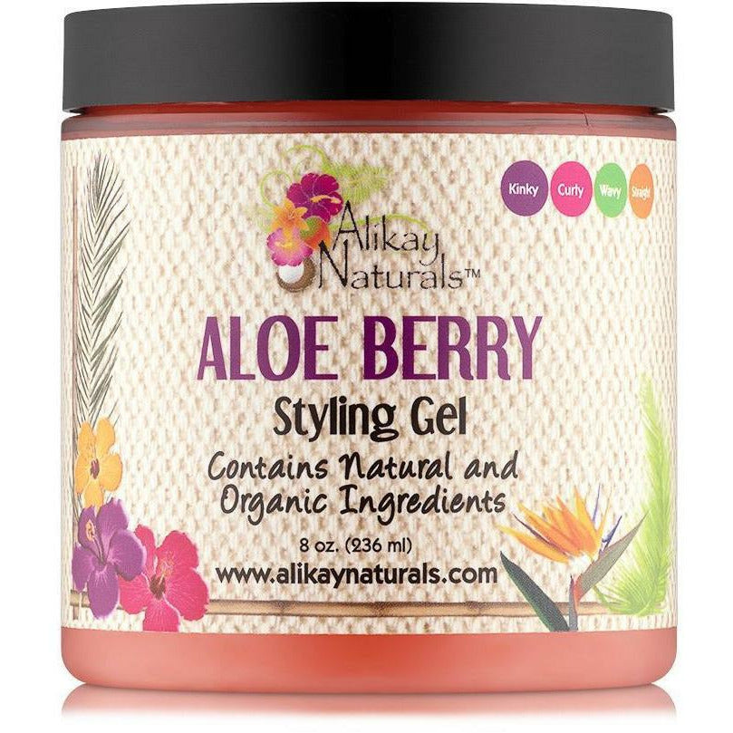 Alikay Naturals Styling Product Alikay Naturals: ALOE BERRY STYLING GEL 8oz