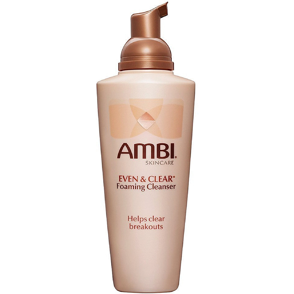 Ambi Bath & Body Ambi: Even & Clear Foaming Cleanser 6oz