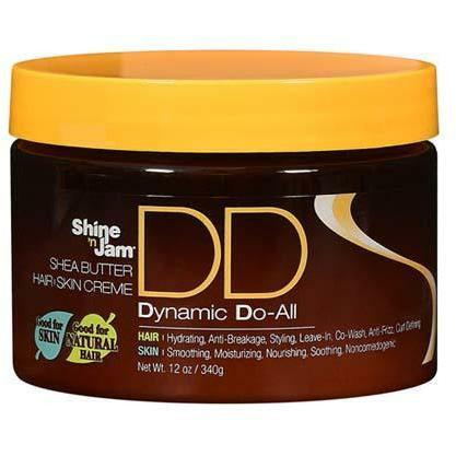 Ampro Styling Product Shine 'n Jam: Dynamic Do All Creme 12oz