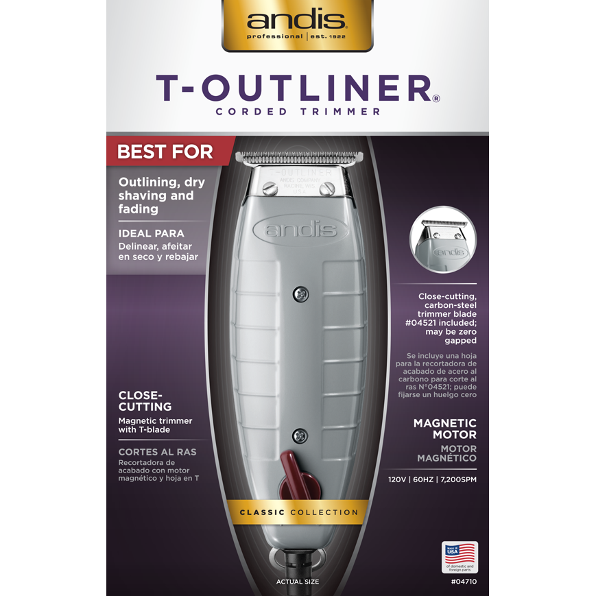 Andis Hair Trimmers ANDIS: T-Outliner® T-Blade Trimmer