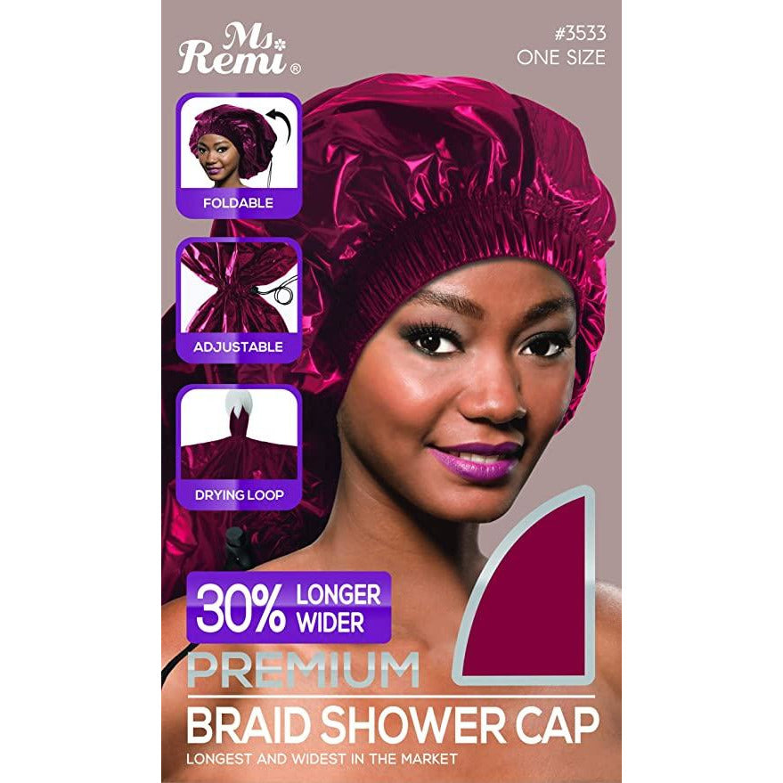 Annie bon Ms. Remi: Premium Braid Shower Cap