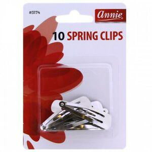 Annie Hair Accessories Annie: #3174 10 Spring Clips
