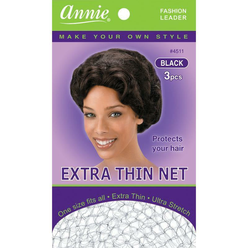 Annie Hair Accessories ANNIE: Extra Thin Net #4511