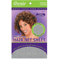 Annie Hair Accessories ANNIE: Weaving Hair Net Sheet #4478