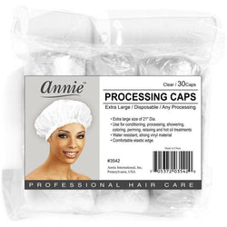 Annie Hair Accessories Clear ANNIE: Processing Cap #3542