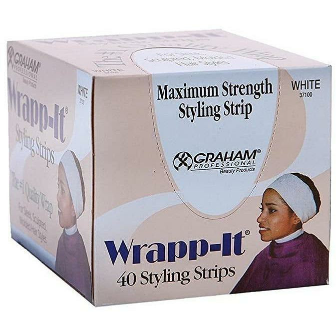 Annie Hair Accessories Wrapp-It: Maximum Strength Styling Strip 40 Count - White