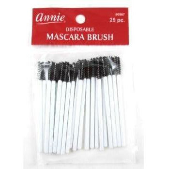 Annie Makeup tools Annie: #6967 Mascara Brush 25ct