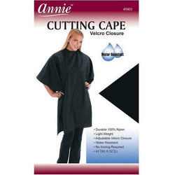 Annie Salon Tools Annie: Cutting Cape with Velcro Closure # 3903
