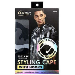 Annie Salon Tools Annie: Styling Cape with Hooks