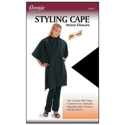 Annie Salon Tools Annie: Styling Cape with Velcro Closure #3915