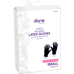 Annie Salon Tools Diane: Latex Gloves 4 pack