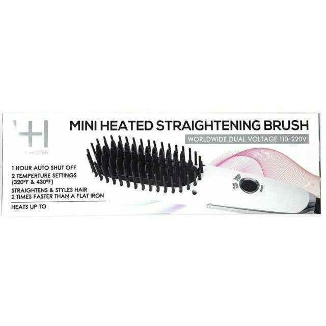 Annie Salon Tools Hot & Hotter: Mini Straightening Brush #5952