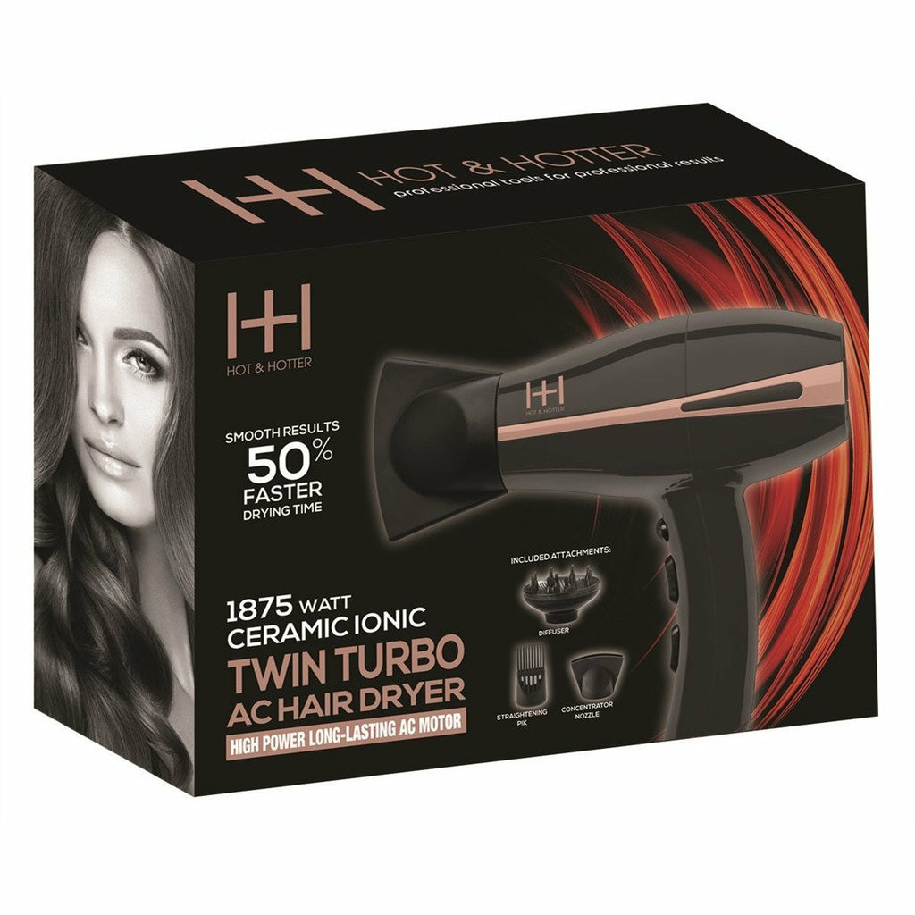 Annie Salon Tools Hot & Hotter: Twin Turbo High Power AC Motor Dryer