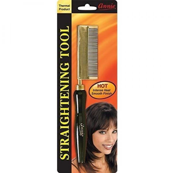 Annie Styling Product ANNIE: Straightening Comb - Medium Teeth Curved Sided #5503