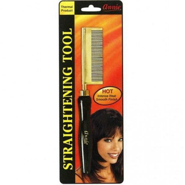 Annie Styling Product ANNIE: Straightening Comb - Medium Teeth Straight Head #5502