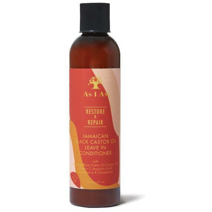 As I Am Hair Care As I Am: Jamaican Black Castor Oil Leave-In Conditioner 8oz