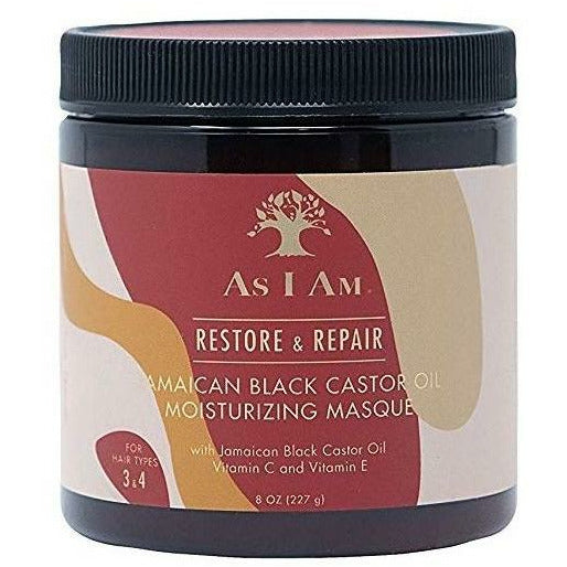 As I Am Hair Care As I Am: Jamaican Black Castor Oil Moisturizing Masque 8oz
