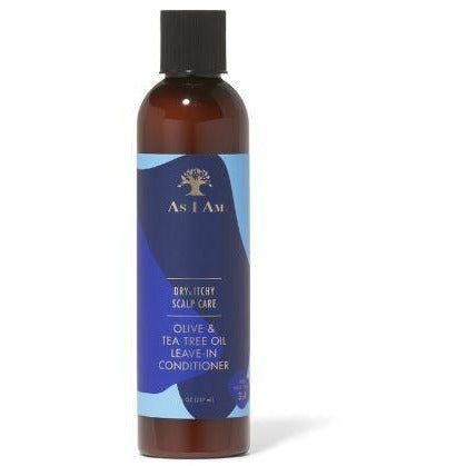 As I Am Styling Product As I Am: Olive & Tea Tree Oil Leave In Conditioner 8OZ