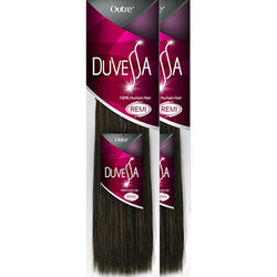 "Beauty Depot Inc. Weaving Hair #1 - Jet Black / 10""+10"" Combo Sale: OUTRE Duvessa <br> 100% Human Remi Hair"
