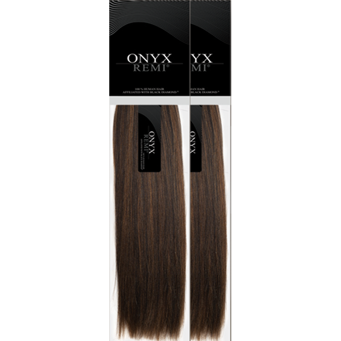 "Beauty Depot Inc. Weaving Hair 10""+10"" / #1 - Jet Black Combo Sale: ONYX® Remi <br> 100% Human Hair"